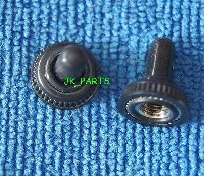 10pcs 6MM Black Mini Toggle Switch Rubber Resistance Boot Cover Cap Waterproof