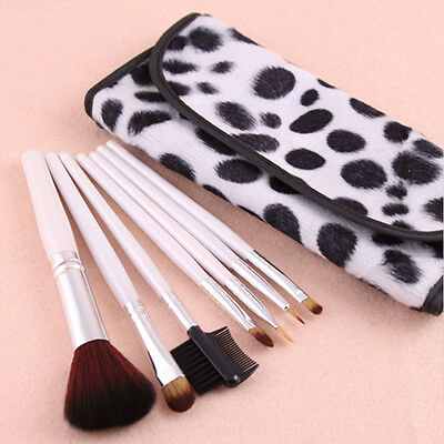 Delicate Beauty Cosmetic Brushes Set With Case 7 PCS Professional Makeup Brush