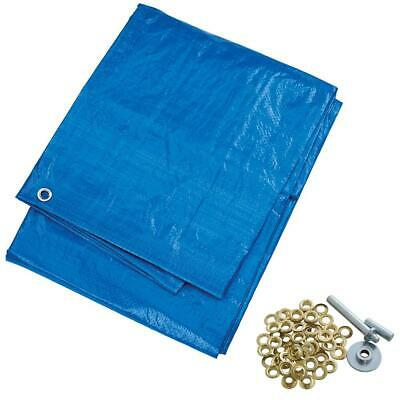 New Waterproof Tarpaulin Ground Sheet Lightweight Camping Cover UV Resistant