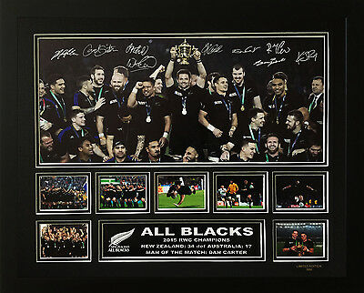 Offer- 3 All Blacks Rwc 2011 & 2015 Frames Of Your Choice Discounted