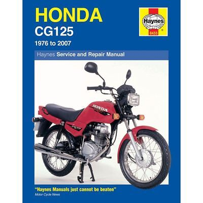 Workshop Manual Honda CG125 1976-2007