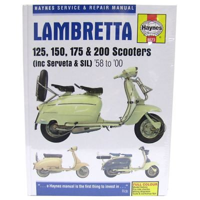Haynes Manual 5573 Lambretta 125;150;175 & 200 (58-00)