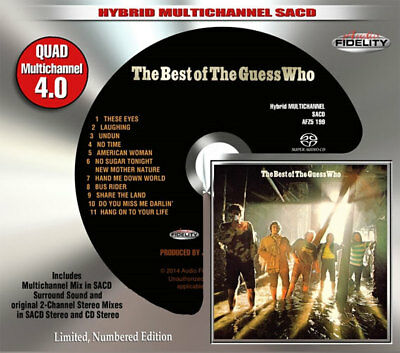 AFZ 199 | The Guess Who - Best Of The Guess Who SACD oop
