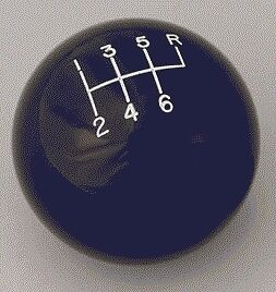 4 speed engraved shifter shift knob BLACK for 1972-1990 Toyota Pickup Hilux