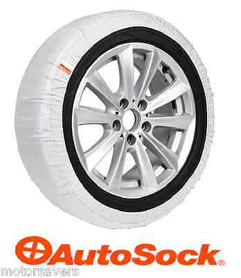 "AutoSock Smart Grip Car Snow Socks LARGE 19""  Tyres - Click For Applications"