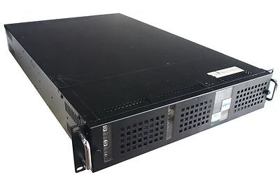 """19"""" Rack Mount Case 2U Chassis 2HE Server-alloggio IDE Backplane 6x HDD Caddy"""