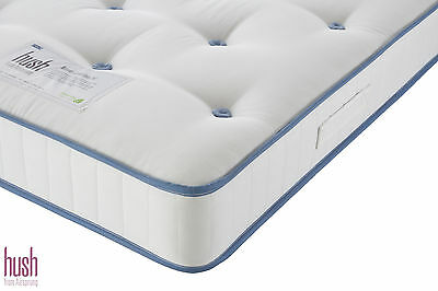 HUSH BY AIRSPRUNG Junior Naturals 800 Pocket Sprung System Mattress 2FT 6 & 3FT