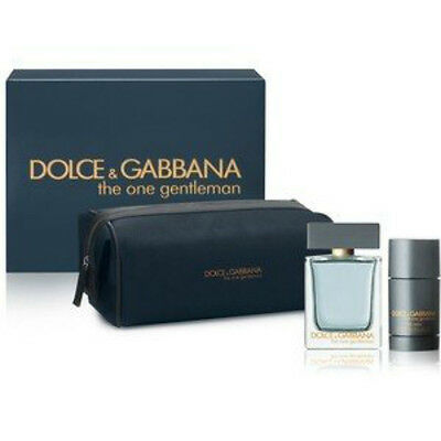 Dolce & Gabbana - D& G - The One Gentleman Navy Blue Toiletry/ Wash Bag * New