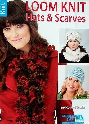 Loom Knit Hats & Scarves  Patterns  Knit Cozy Fashions Without Needles  LA