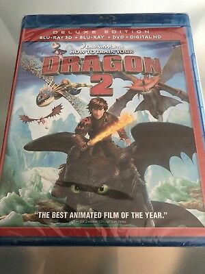 How To Train Your Dragon 2 3D****blu-Ray****region Free****new & Sealed