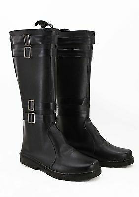 Star Wars 7 VII The Force Awakens Sith Lord Kylo Ren Cosplay Costume Boots Shoes