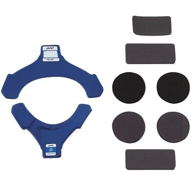 Pod NEW Mx K8 Motocross Replacement Pad Kit Knee Brace Blue Padding Set RIGHT