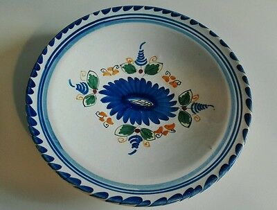 ANTIGUO PLATO CERAMICA DECORACIÓN Antique  ceramic plate decorated ESPAÑA