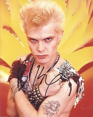 BILLY IDOL - Rock Star GENUINE AUTOGRAPH UACC (HA10587)