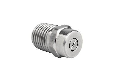 """Pressure Washer  Stainless Steel Spray Nozzle 1/4"""" Ten Pack 15° Sizes 2-10"""