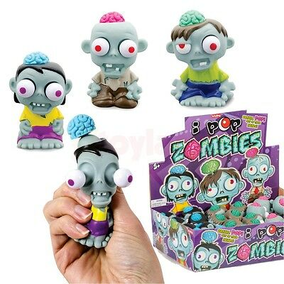 I Pop Zombies Brain Eyes Pop Out Figure Boy Christmas Stocking Filler Halloween