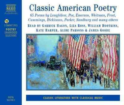 Various-Classic American Poetry Cd New