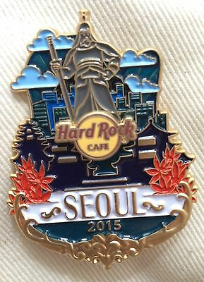NEW !! Hard Rock Cafe Seoul Icon Series Pin LE