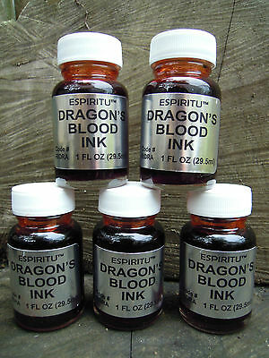 Dragon's blood ink Spell Supplies book of shadows spells magic rituals witch