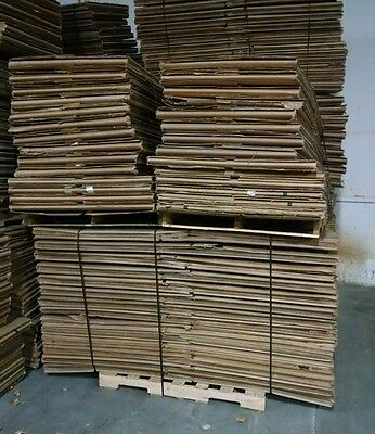 39x46x35 GAYLORD BOXES FULL FLAPS 5 WALLS THICK! LOT OF 32 BOXES. MANY AVAILABLE