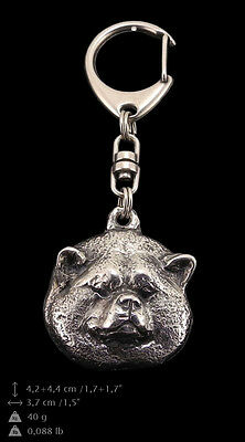 Akita Inu,Dog Keyring, Keychain, High Quality, Exceptional Gift