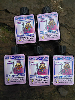 John the Conqueror anointing Oil Spell Supplies spells rituals charm bags Witch
