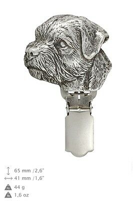 Border Terrier,Dog Clipring, High Quality, Exceptional Gift, ArtDog