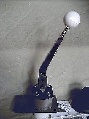 Core SST Shifter w/ Hurst chrome stick for Mustang : 1983-2004 w/ T5 5 speed