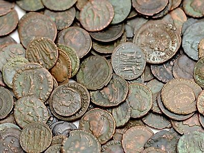 5 Ancient Roman Coins - TOP QUALITY - Clean - BUY 3 LOTS GET A FREE BONUS COIN