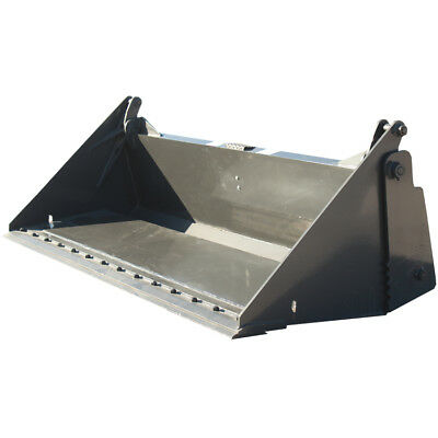 84 Inch Prowler Extreme Duty 4-n-1 Bucket with Bolt On Cutting Edge Attachment