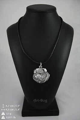 Brussels Griffon,Dog Necklace, High Quality, Exceptional Gift, ArtDog