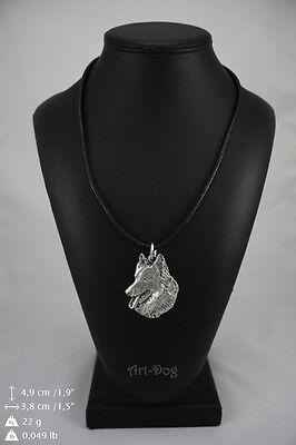 Belgian Shepherd,Malinois, Dog Necklace, High Quality, Exceptional Gift, ArtDog