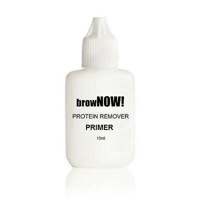 browNOW! Eyebrow PRIMER - Individual Eyebrow Extensions Cleanser Protein Remover