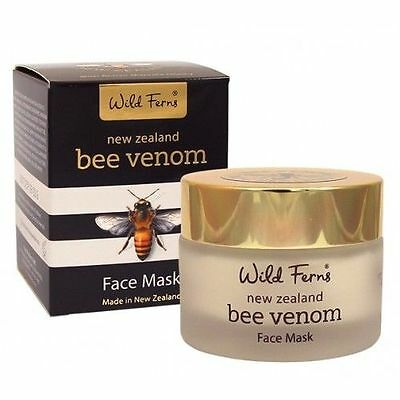 Wild Ferns NEW ZEALAND Bee Venom Face Mask with Active Manuka Honey ( 50g )
