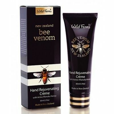 Wild Ferns Bee Venom Hand Rejuvenating Creme / Cream with Active Manuka Honey