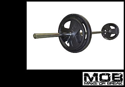 BARGAIN 6 foot ft Standard size gym training barbell bar -- NEW