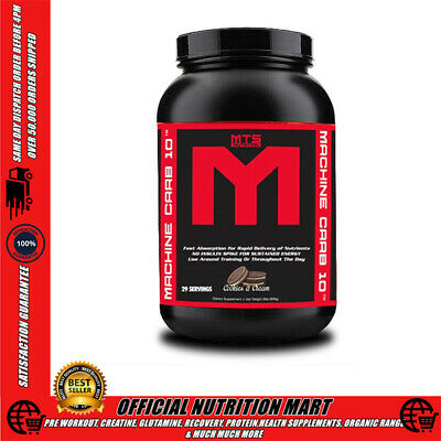 Mts Nutrition Machine Carb 10 Carbohydrate Powder 2Lbs