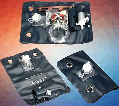 Universal Windscreen washer bag kit with pump fit Classic car