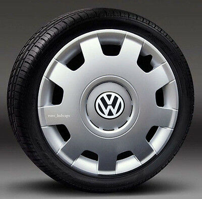 "Set of 4 ( 16"") wheel trims, Hub Caps to fit Vw Transp.T5,Beetle,Golf"