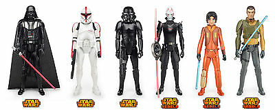 Star Wars Rebels - Pack 6 figuras 30 cm: Darth Vader Clone Trooper Stormtrooper