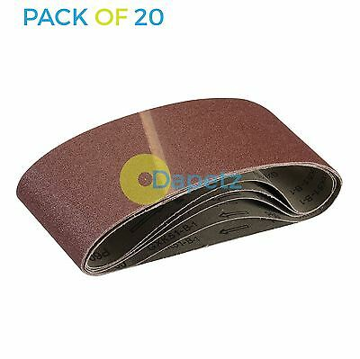 20 x New 100 x 610mm 60 Grit Coarse Sander Sanding Belts