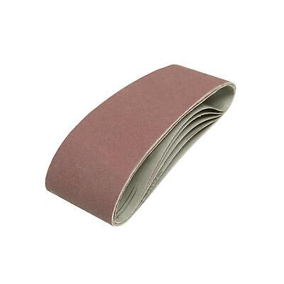 20 x 75mm x 533 mm 120 Grit Fine Sander Sanding Belt Belts 75 533 mm