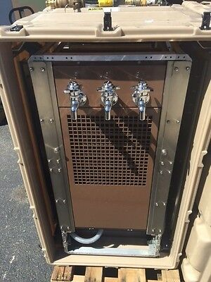 Portable Military Filtered Water Chiller/Dispenser w/case (Rare durable unit)