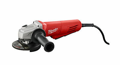 "Milwaukee Small Angle Grinder 4-1/2"" Paddle, No Lock"