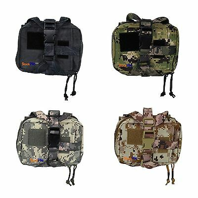 Horizontal K9 Tear Away Medic Kit First Aid Molle Pouch (IFAK) (4 Color Options)