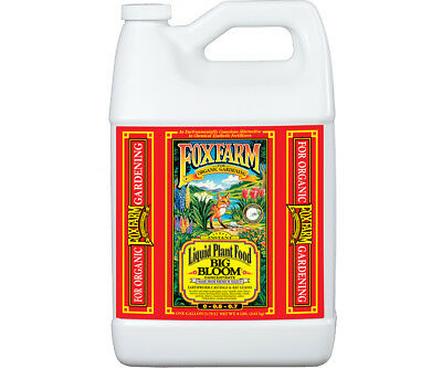 Fox Farm Big Bloom 1 Gallon organic nutrients hydroponics