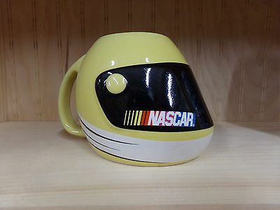 2003 Sherwood Yellow NASCAR Racing Helmet Coffee Mug or Cup