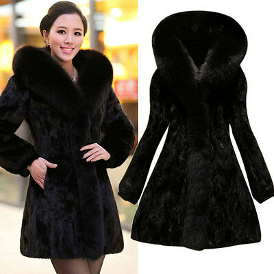 neu elegante lang winterjacke cape ponchos damen schwarz wollmantel parka coat eur 21 97. Black Bedroom Furniture Sets. Home Design Ideas
