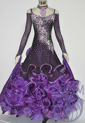 Ballroom .standard. Smooth Dance Competition Dress Size S M L B2938