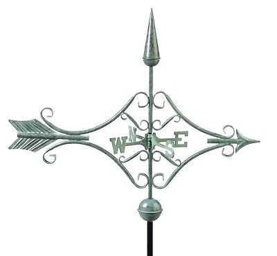 Victorian Arrow Verdigris Weathervane